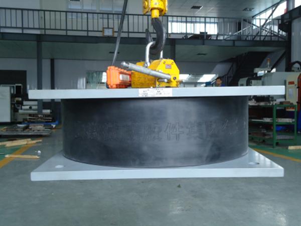 安徽微威集团正式试制建筑橡胶减震支座(图1)