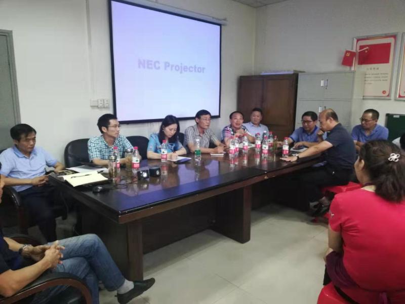 安徽微威胶件集团收购合肥义和后召开首次职工大会并对义和总经理进行任命